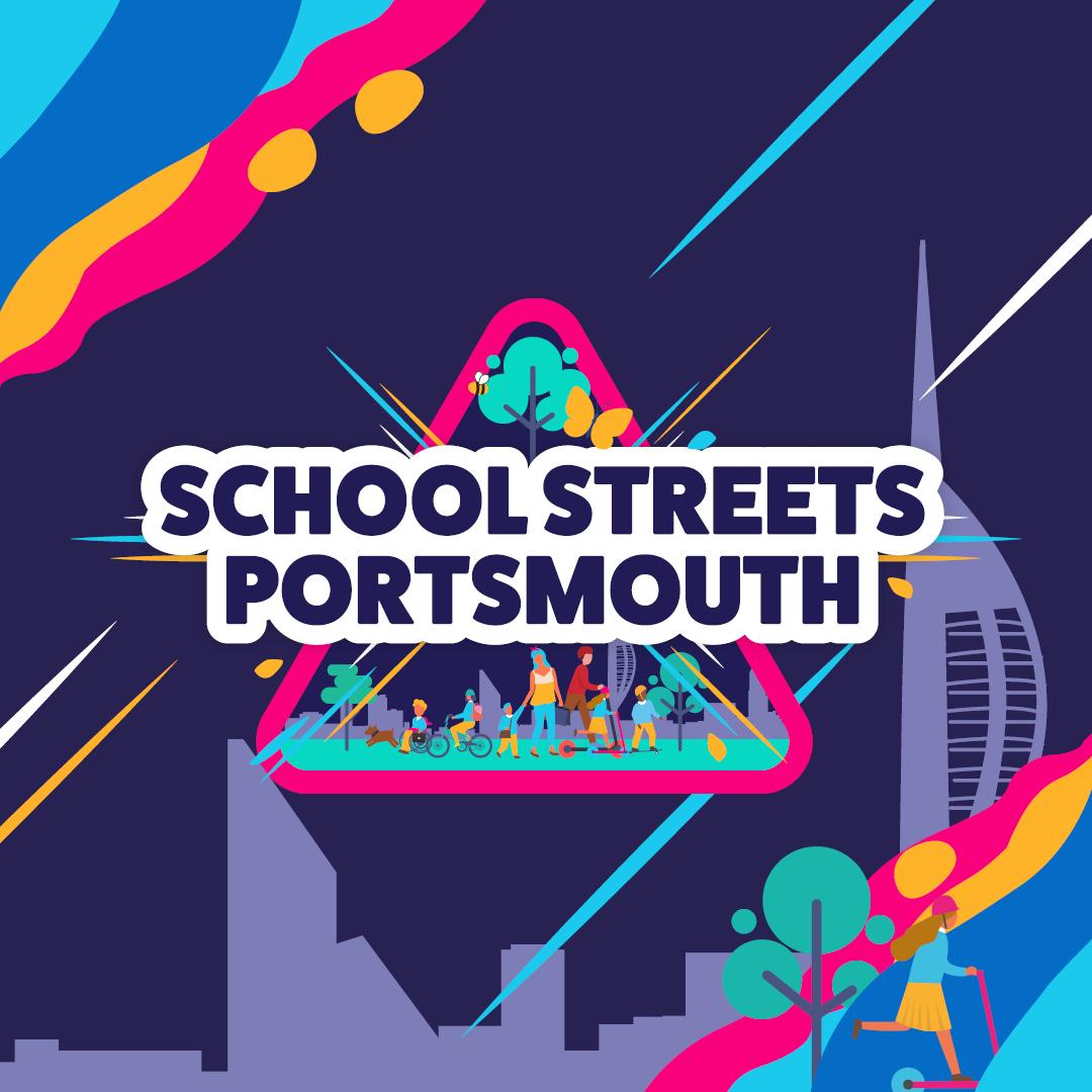 Schools Streets Portsmouth logo